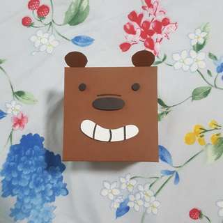 We Bare Bear - Grizz explosion box