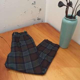 古著:格子褲