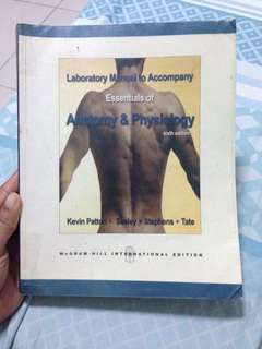 Essentials of anatomy & physiology lab manual