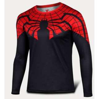 Spiderman Octo superhero compression tights long sleeve