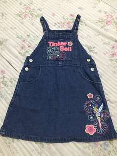Tinkerbell jumpsuit for size 5 kids