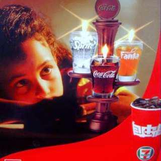 Coca cola可口可樂蠟蠋臺