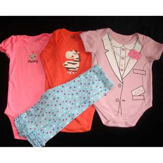 Romper Preloved Baby Clothes Take all Free Pants