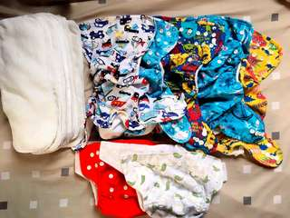 Cover cloth diaper and pocket cloth diapers take all