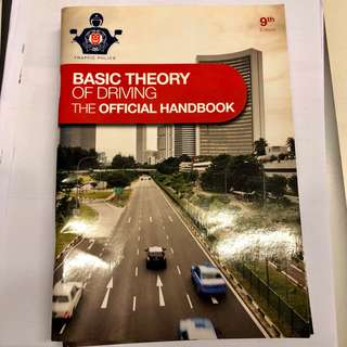 BTT FTT Basic and Final Theory Traffic Police Book
