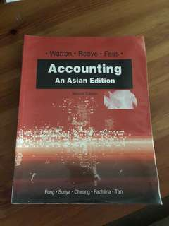Accounting An Asian Edition (second edition) Warren - Reeve - Fess