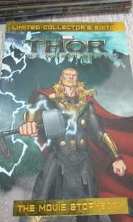 Limited Collector's Edition Thor The Dark World The Movie Storybook