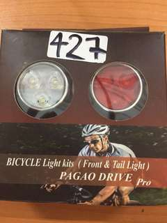 427• Bicycle tail light