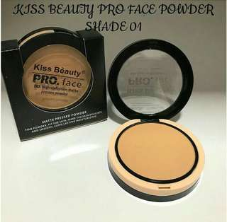 ✨Kiss Beauty Professional Face HD High Definition Matte Pressed Powder