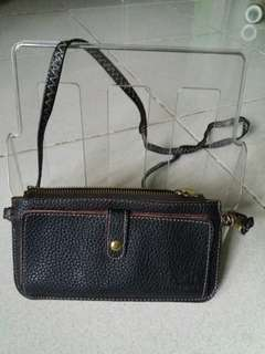 Wallet with sling