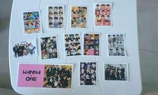 Wanna One Stickers 貼紙