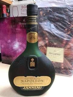 真露拿破侖法國名酒80年代