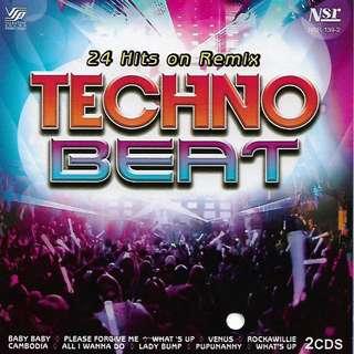 24 Hits On Remix Techno Beat 2CD New