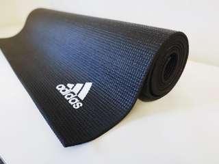 🚚 Adidas 4mm 黑色瑜珈墊
