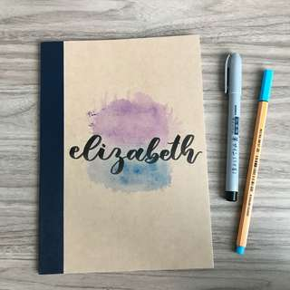 a5 muji elizabeth notebook