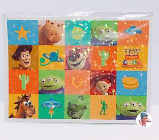 迪士尼 toystory 明信片