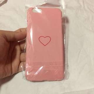 🌸BRANDNEW🌸 Iphone 6, Iphone 6s Cute Heart Pink Hard Case