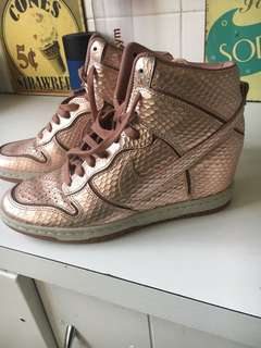 Nike Rose Gold Limited Edition Sneakers