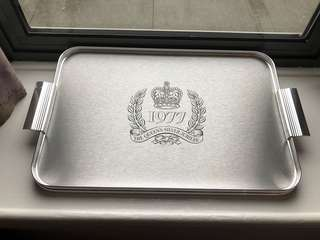 The Queen's Silver Jubilee - Serving tray