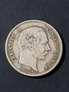 1875 Denmark Krone