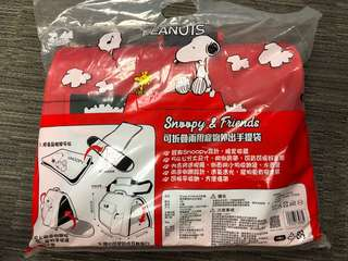🚚 寵物 手提袋 Snoopy 全新未拆封