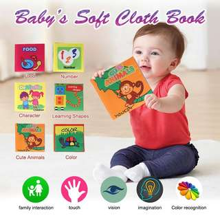 Baby's cloth book