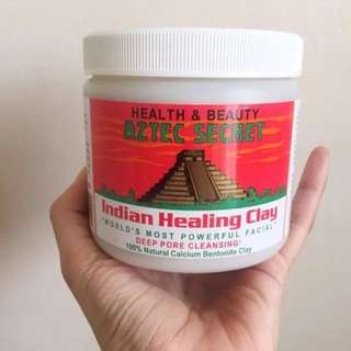 [SHARE] Aztec secret Indian healing Clay mask - masker aztec