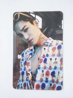EXO Jongin (Kai) Official Photocard from The War Album