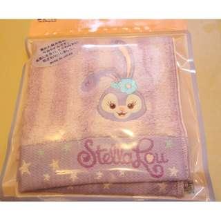 東京迪士尼史黛拉兔Stella Lou 日本製方巾小毛巾