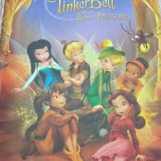 Limited Collector's Edition Fairies Tinker Bell and the Lost Treasure