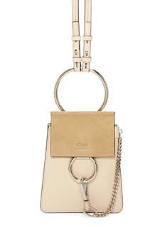 Chloe Faye mini cross bag 代購 淺啡