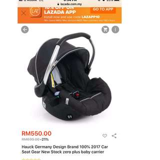 Hauck Germany Car Seat