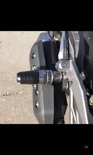 Exhaust slider Yamaha xmax Yamaha Tmax