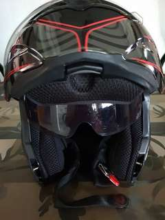 Bell and Kawasaki Modular helmets XL