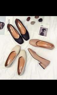 Mules Low Block heels
