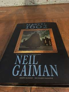 Marvel 1602 by Neil Gaiman, Hard book cover