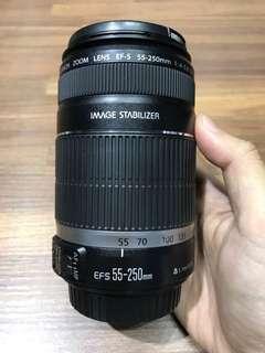 🚚 曙光數位 Canon 55-250mm F4-5.6 IS