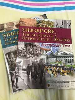Secondary 1 and 2 History Textbook