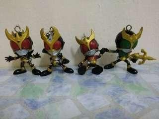 Kamen rider keychains