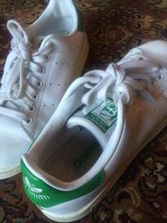 'Stan Smith' green adidas sneakers