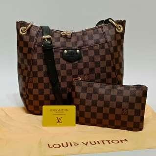 Louis Vuitton Sling Bag 2 in 1 Damier Black