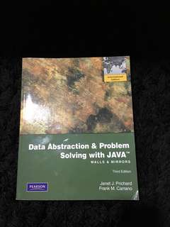 [Third Edition] Data Abstraction & Problem Solving with Java