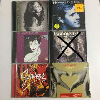 [HOT] 80s Music CDs