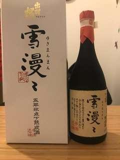 雪漫 五年水點下熟成酒 720ml 日本清酒 sake