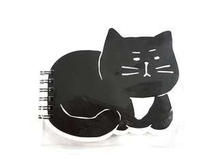 BN Black Cat Spine Notebook