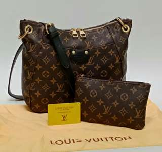 Louis Vuitton Sling Bag 2 in 1 Black Monogram