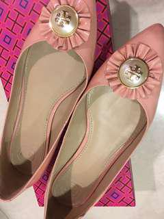 Authentic Tory Burch Pinkie Flats