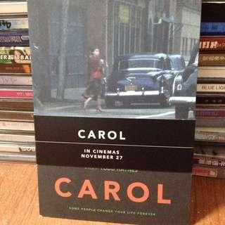 英國帶回 明信片 CAROL 因為愛你 一套6張  Cate Blanchett 凱特布蘭琪 Rooney Mara 魯妮瑪拉