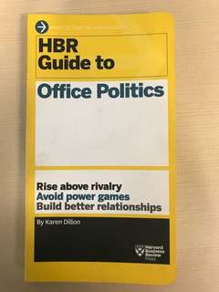 🚚 HBR Harvard Business Review Guide to Office Politics