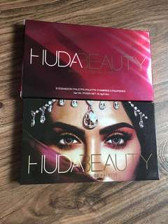 Huda Beauty Eyeshadow dessert dusk palette